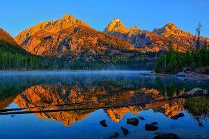 Taggart Lake Morning Light